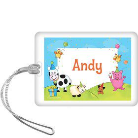 Barnyard Personalized Bag Tag (each)