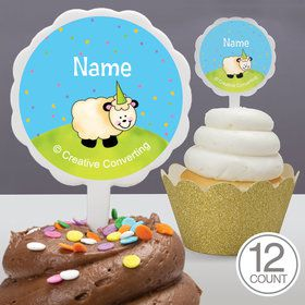 Barnyard Personalized Cupcake Picks (12 Count)
