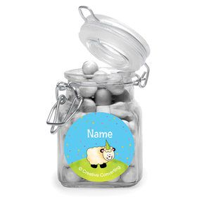 Barnyard Personalized Glass Apothecary Jars (12 Count)
