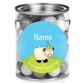 Barnyard Personalized Mini Paint Cans (12 Count)