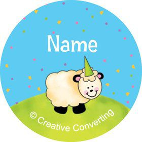 Barnyard Personalized Mini Stickers (Sheet of 24)