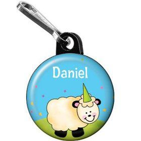 Barnyard Personalized Mini Zipper Pull (each)