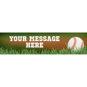 Baseball Personalized Banner (Each)