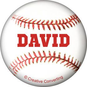 Baseball Personalized Mini Magnet (Each)
