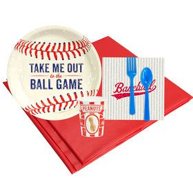 Baseball Time 8 Guest Party Pack