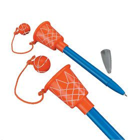 Basketball Hoop Pens (12 Count)