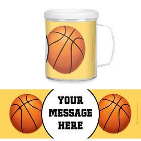 Basketball Party Personalized Favor Mugs (Each)