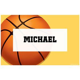 Basketball Party Personalized Placemat (each)