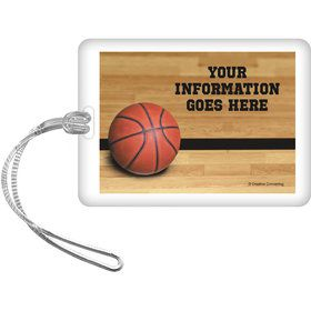 Basketball Personalized Luggage Tag (Each)