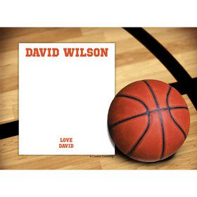 Basketball Personalized Thank You (Each)