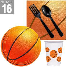 Basketball Snack Pack For 16