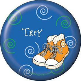 Basketball Star Personalized Button (each)