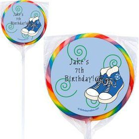 Basketball Star Personalized Lollipops (pack of 12)