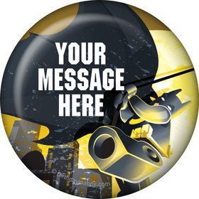 Bat Blocks Personalized Button (Each)