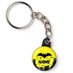 "Bat Personalized 1"" Mini Key Chain (Each)"
