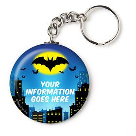 "Bat Personalized 2.25"" Key Chain (Each)"