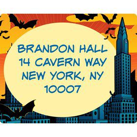 Bat Personalized Address Labels (sheet of 15)