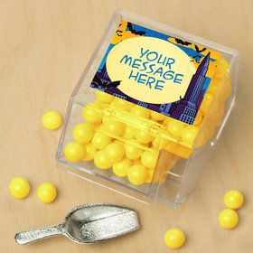 Bat Personalized Candy Bin with Candy Scoop (10 Count)