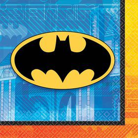 Batman Beverage Napkins (16 Pack)