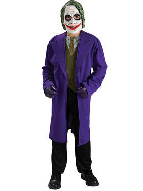 Batman Dark Knight The Joker Child Costume Large