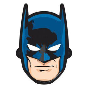 Batman Paper Masks (8 Pack)