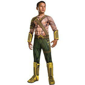 Batman V Superman: Dawn of Justice- Boys Deluxe Aquaman Costume