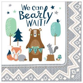 Bear-ly Wait Lunch Napkins (16)