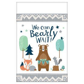 Bear-ly Wait Paper Table Cover