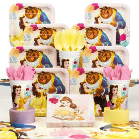 Beauty and the Beast Deluxe Tableware Kit (Serves 8)