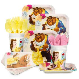 Beauty and the Beast Standard Tableware Kit (Serves 8)