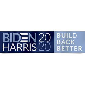 BIDEN HARRIS Build Back Better Banner 15x60(Each)