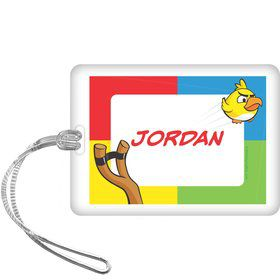 Birds Personalized Bag Tag (each)
