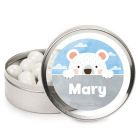 Birthday Bear Personalized Mint Tins (12 Pack)