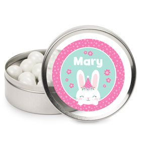 Birthday Bunny Personalized Mint Tins (12 Pack)