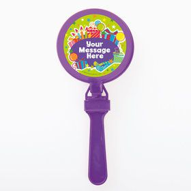Birthday Burst Personalized Clappers (Set of 12)