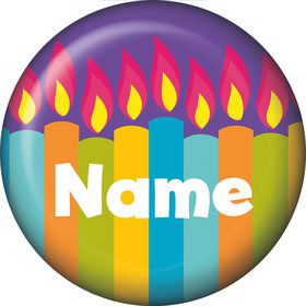Birthday Burst Personalized Mini Button (Each)