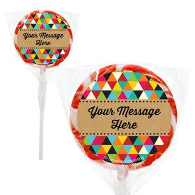 "Birthday Craft Personalized 2"" Lollipops (20 Pack)"
