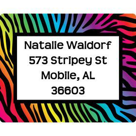 Birthday Doodle Personalized Address Labels (Sheet of 15)