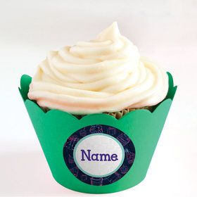 Birthday Doodle Personalized Cupcake Wrappers (Set of 24)
