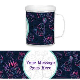 Birthday Doodle Personalized Favor Mug (Each)