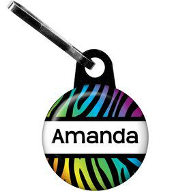 Birthday Doodle Personalized Mini Zipper Pull (Each)