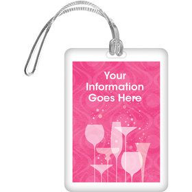 Birthday Fabulous Personalized Bag Tag (Each)