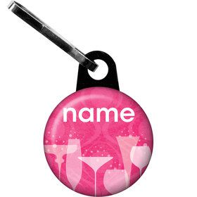 Birthday Fabulous Personalized Zipper Pull (Each)