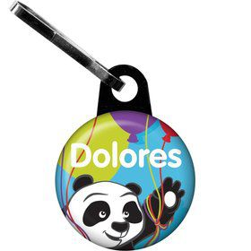 Birthday Panda Personalized Zipper Pull (Each)