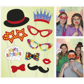 Birthday Photo Props