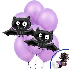 Black Bat Jumbo Balloon Bouquet