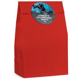Black Panther Personalized Favor Bag (12 Pack)
