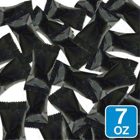 Black Wrapper Buttermints 7oz Bag (Each)