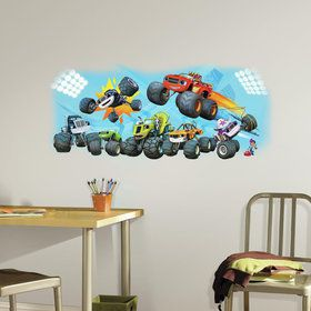 Blaze and Friends Giant Wall Decal (Each)