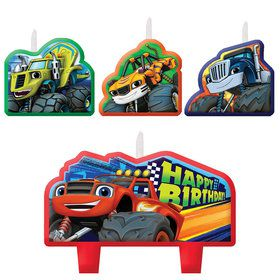 Blaze and the Monster Machines Birthday Candle Set